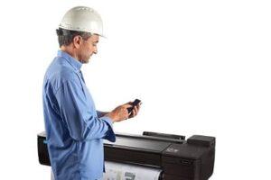 como descobrir se a impressora é a laser
